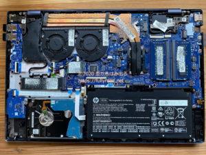 15-cs3075TX液晶パネル交換、裏面